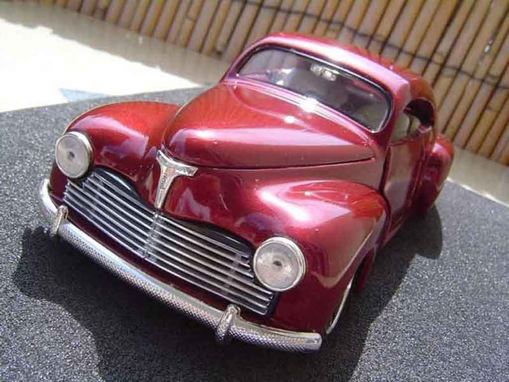 Peugeot 203 coupe 1/18 Solido hot rod tuning modellautos