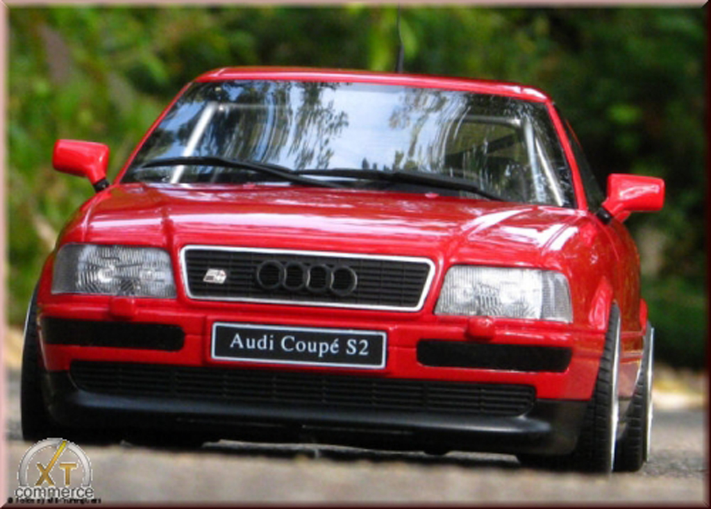 audi s2 red wheels bbs rs 18 pouces ottomobile diecast. Black Bedroom Furniture Sets. Home Design Ideas
