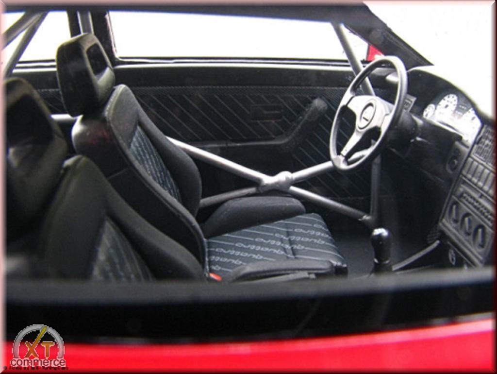 Audi S2 1/18 Ottomobile red jantes BBS 18 pouces