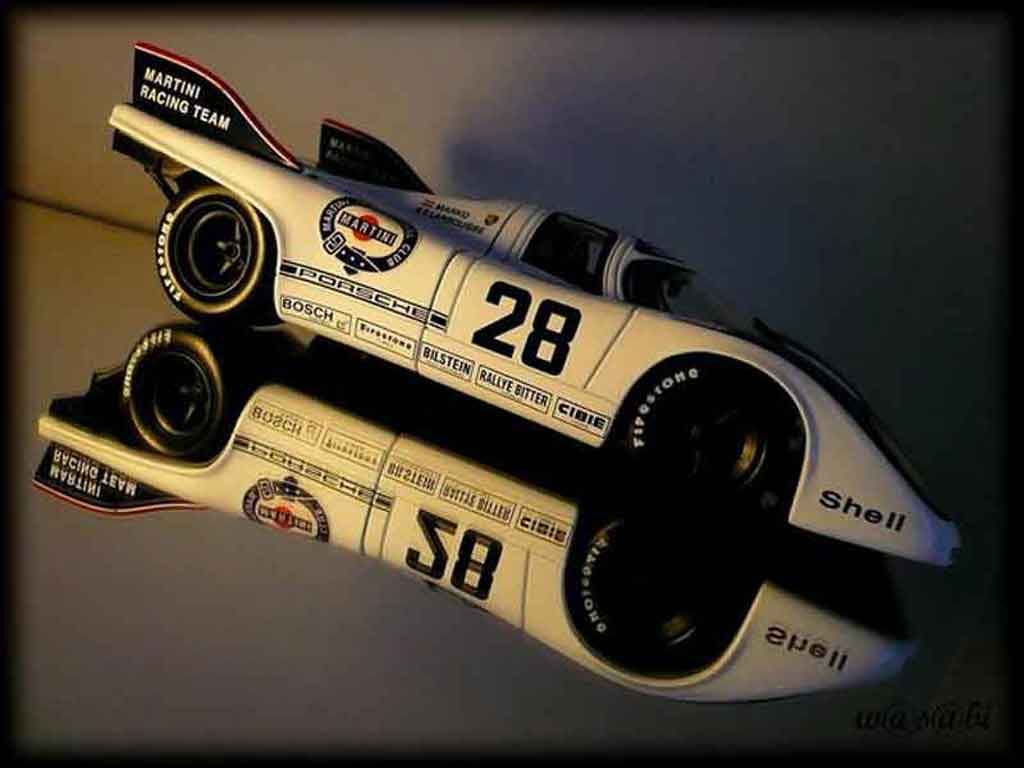 Porsche 917 1971 1/18 Autoart k martini racing #28 1000km austria
