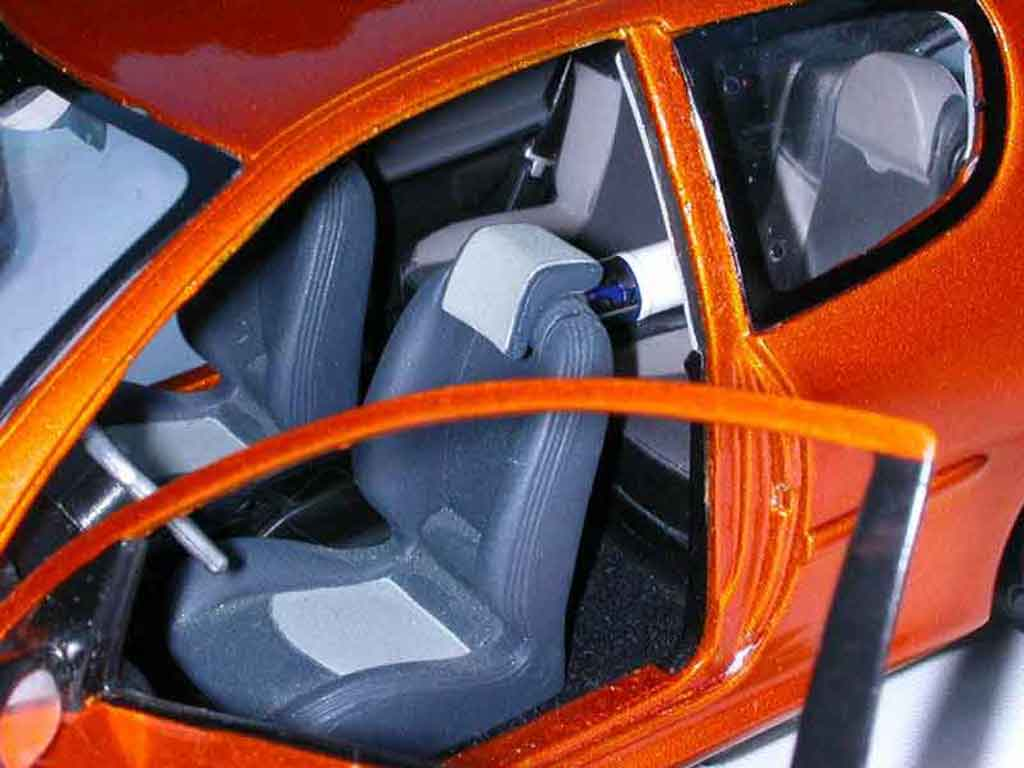 Peugeot 206 RC 1/18 Norev orange tuning
