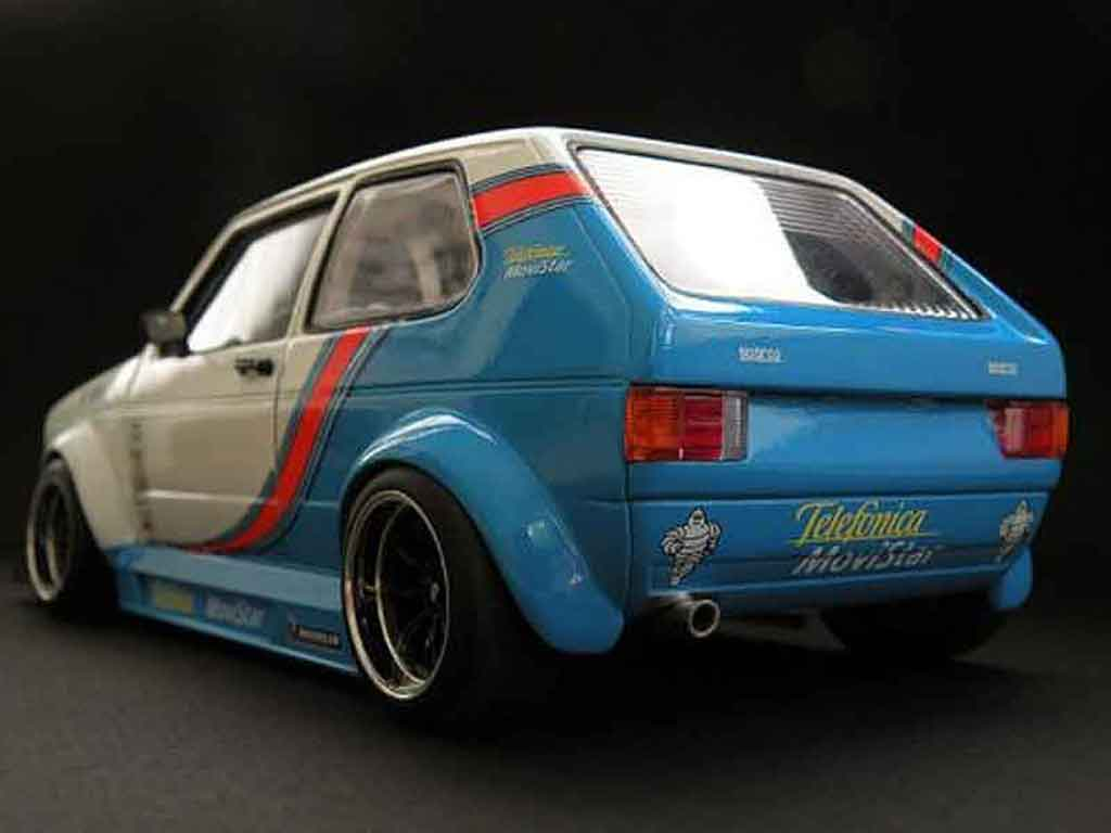 Volkswagen Golf 1 GTI 1/18 Solido competition tuning miniatura