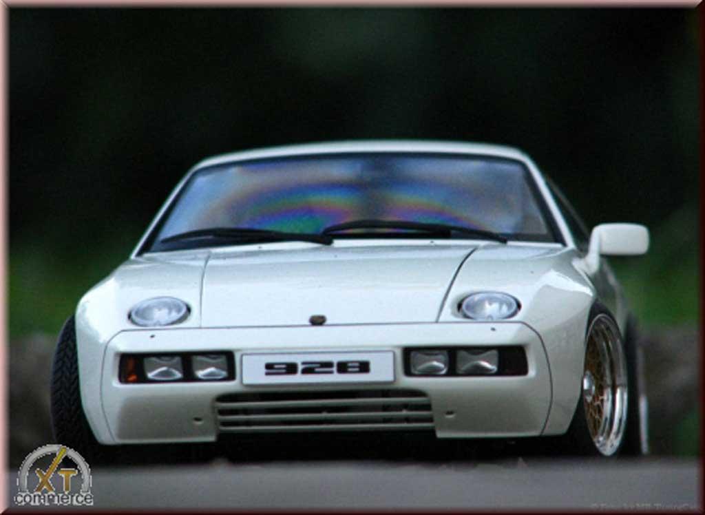Porsche 928 1/18 Autoart Jantes BBS en aluminium d'origine - Gold Anodized tuning miniature