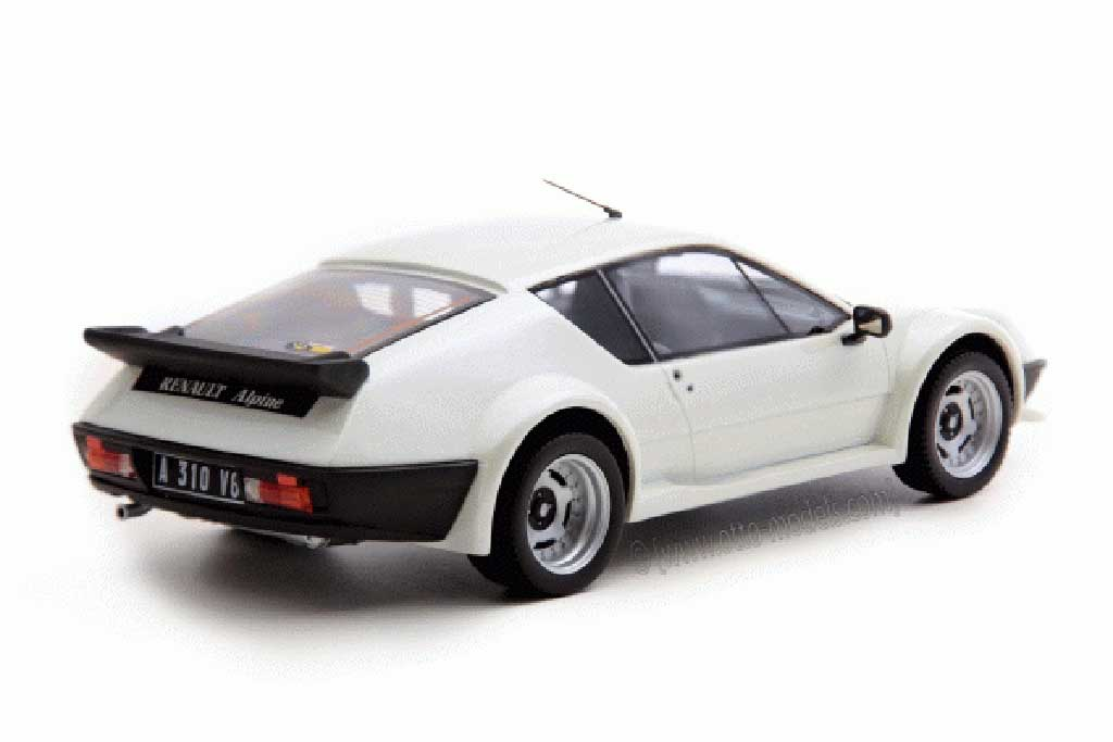 Alpine A310 Pack GT 1/18 Ottomobile 1984 blanco miniatura