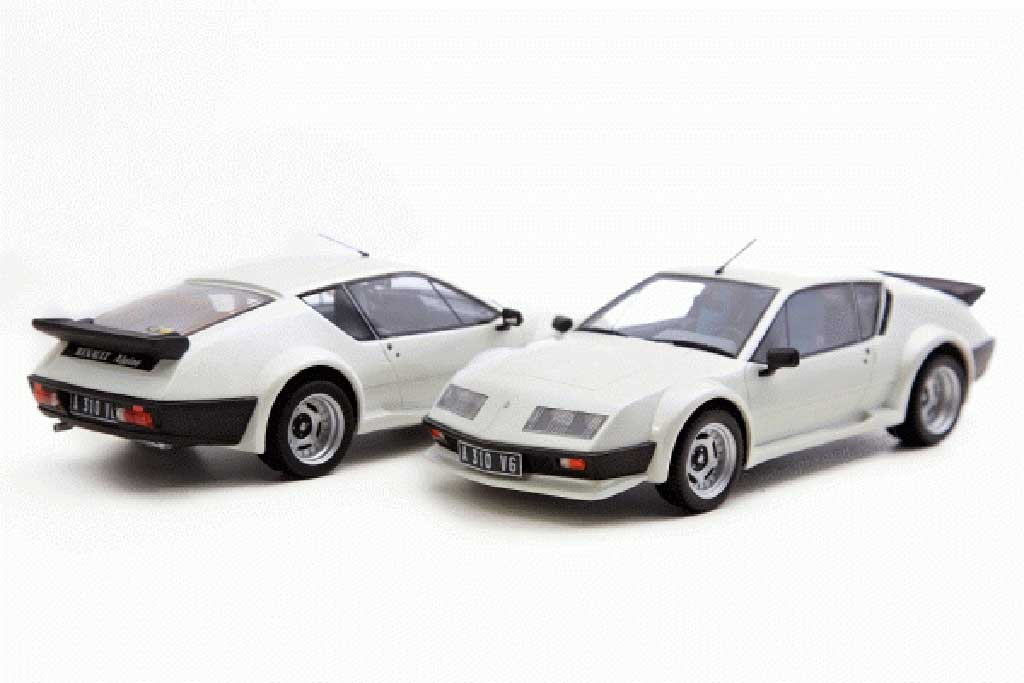 renault alpine a310 miniature pack gt 1984 blanche ottomobile 1 18 voiture. Black Bedroom Furniture Sets. Home Design Ideas