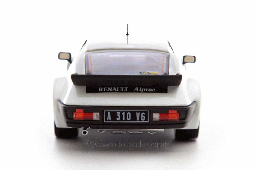 renault alpine a310 pack gt 1984 white ottomobile diecast. Black Bedroom Furniture Sets. Home Design Ideas