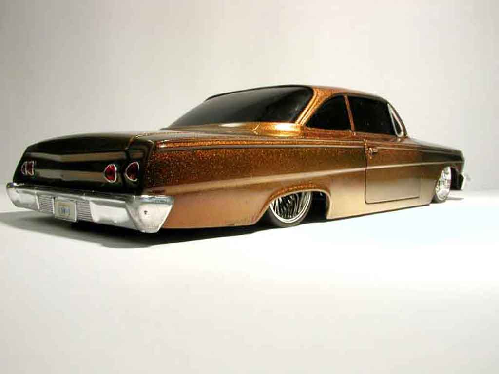 Chevrolet Bel Air 1962 1/18 Maisto 62 ultime lowrider