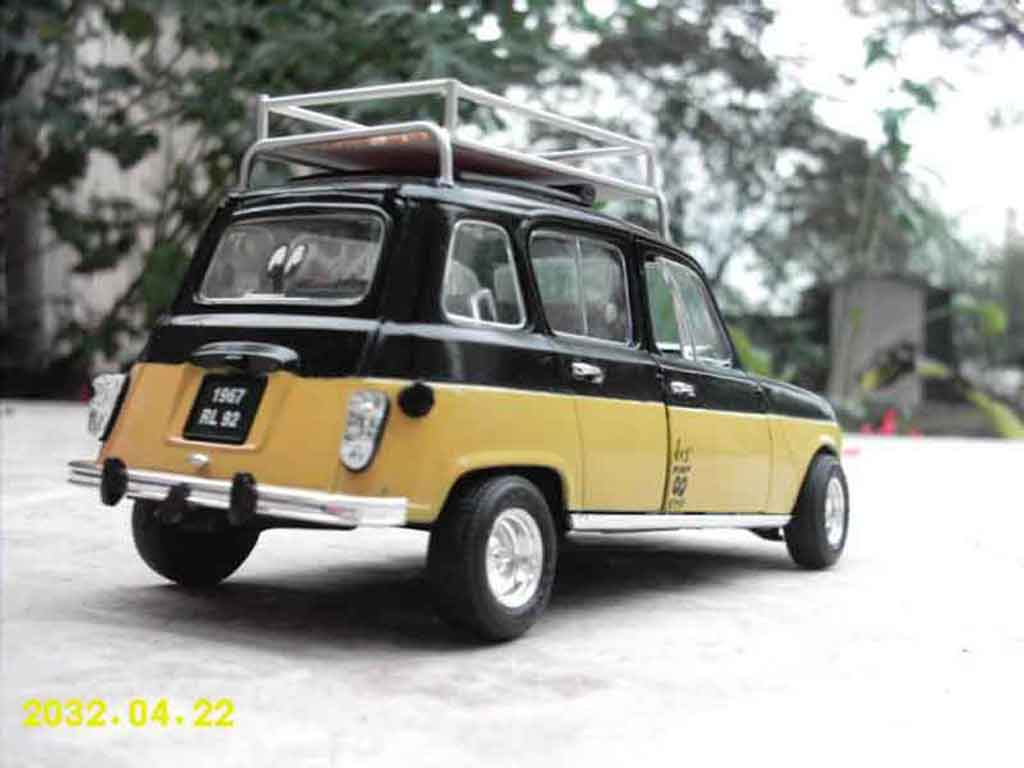 Renault 4l Miniature Old School Solido 1 18 Voiture