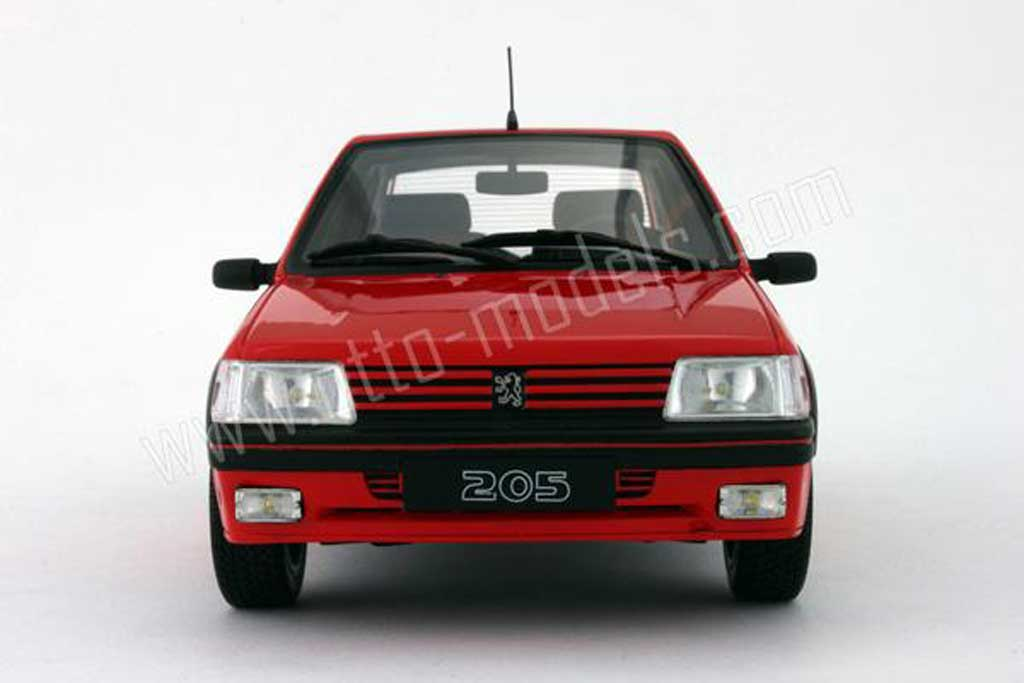 peugeot 205 gti 1 6 rot vallelunga 1991 phase 2 ottomobile modellauto 1 18 kaufen verkauf. Black Bedroom Furniture Sets. Home Design Ideas