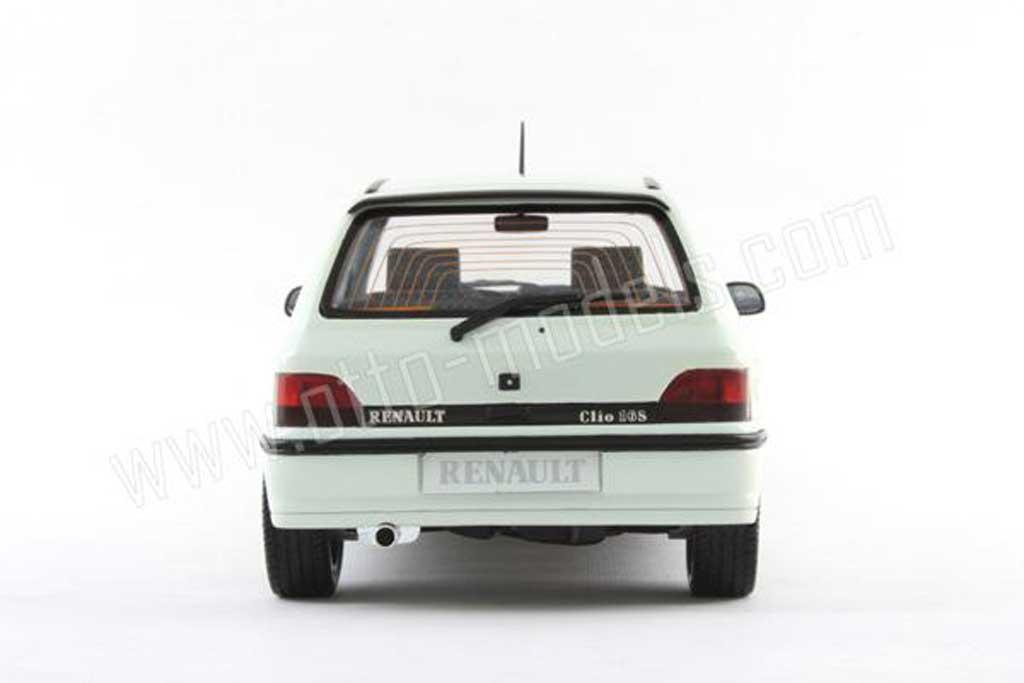 Renault Clio 16S 1/18 Ottomobile blanche 1991