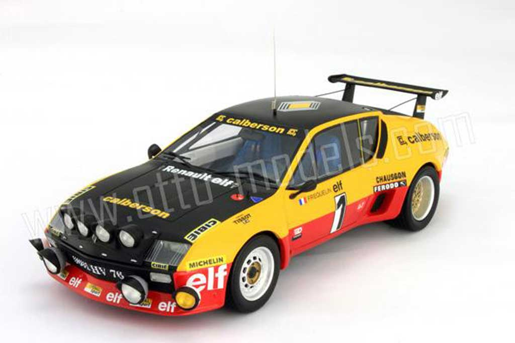Alpine A310 1/18 Ottomobile groupe 5 1977 numero 1 miniatura