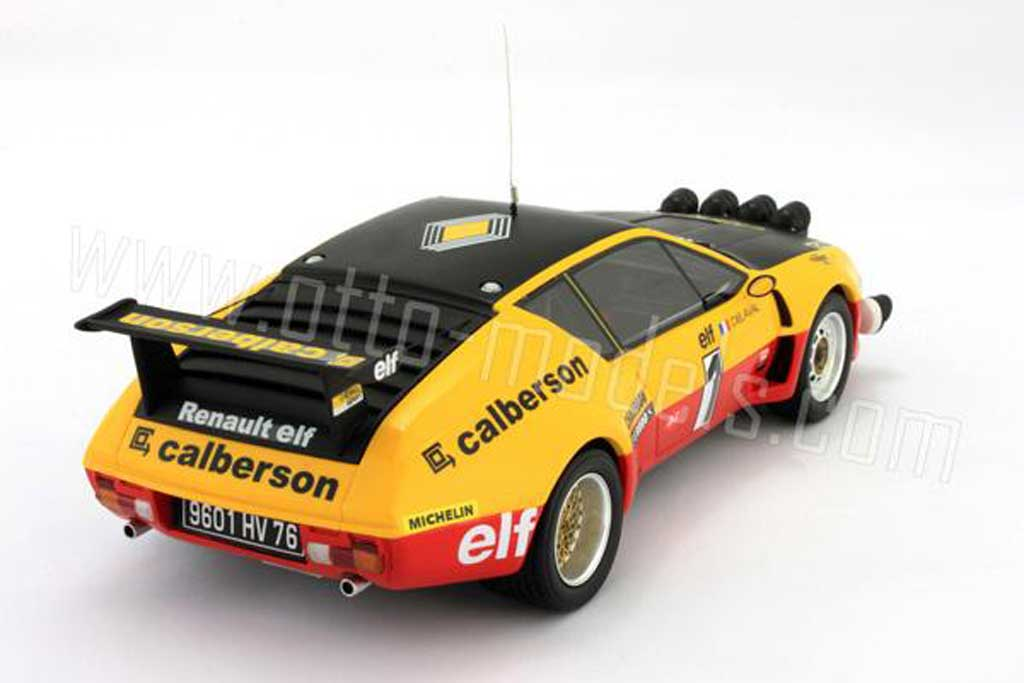 renault alpine a310 miniature groupe 5 1977 numero 1 ottomobile 1 18 voiture. Black Bedroom Furniture Sets. Home Design Ideas