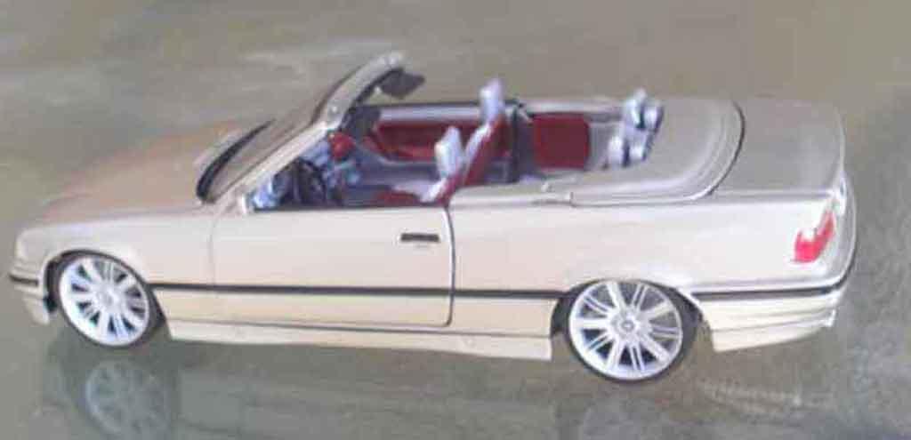 Bmw 325 E36 1/18 Maisto cabriolet jantes 645i