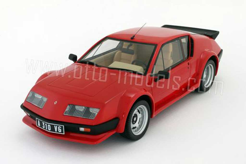 Alpine A310 Pack GT 1/18 Ottomobile 1985 rouge miniature