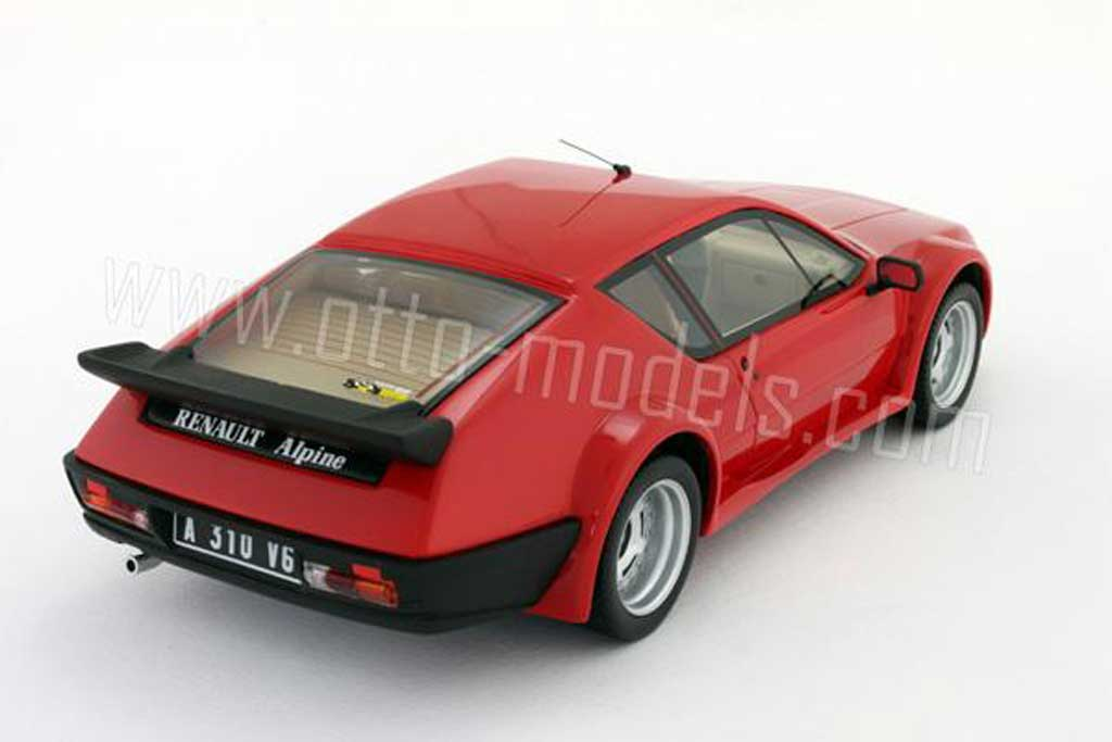renault alpine a310 miniature pack gt 1985 rouge ottomobile 1 18 voiture. Black Bedroom Furniture Sets. Home Design Ideas