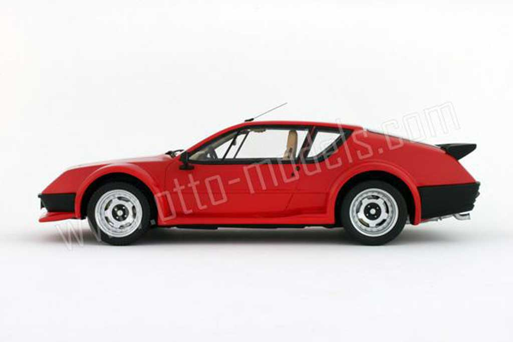 renault alpine a310 pack gt 1985 red ottomobile diecast. Black Bedroom Furniture Sets. Home Design Ideas