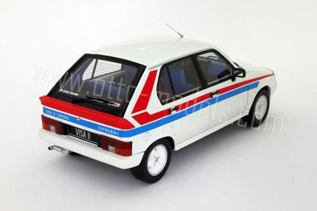 Citroen Visa 1/18 Ottomobile chrono 1982