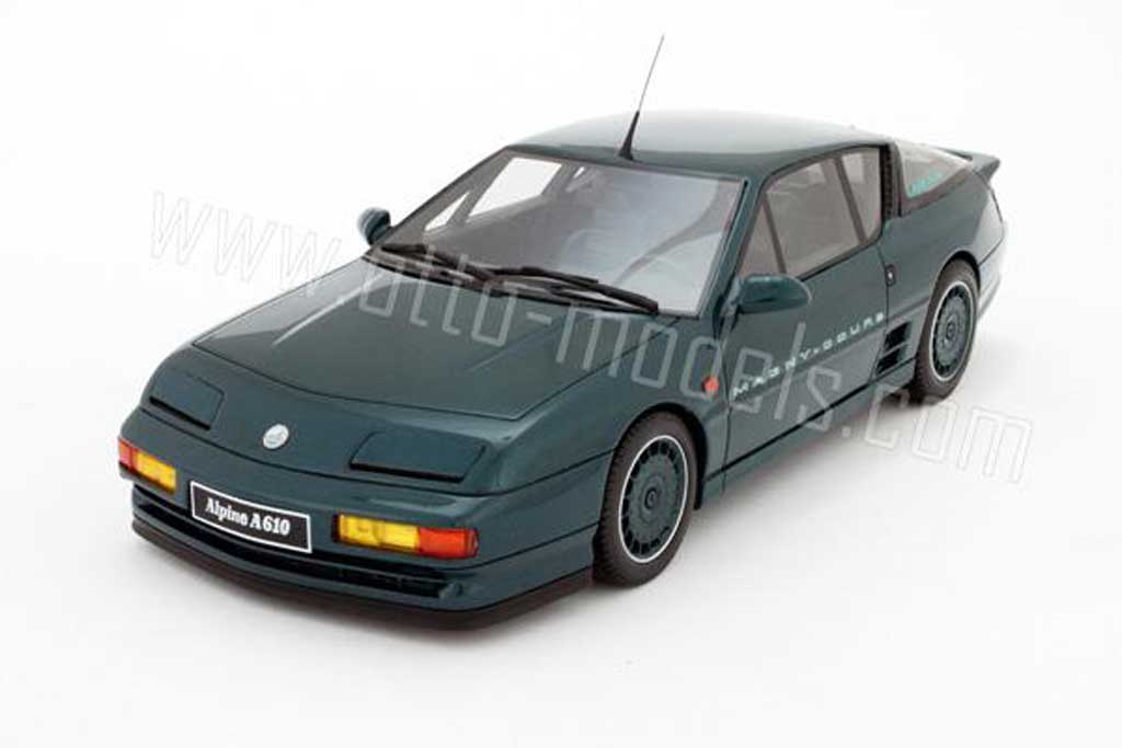 Alpine A610 Magny cours 1/18 Ottomobile 1992 diecast
