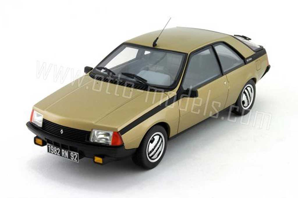 Renault Fuego 1/18 Ottomobile gtx 2l phase 1 1982 miniature