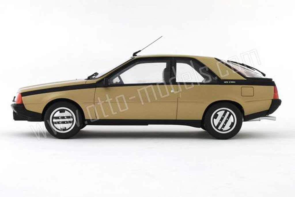 Renault Fuego 1/18 Ottomobile gtx 2l phase 1 1982