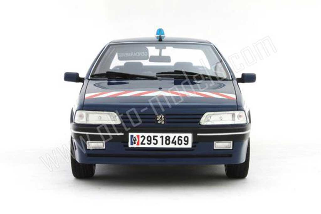 Peugeot 405 Turbo 16 1/18 Ottomobile b.r.i (brigade intervention rapide) 1995