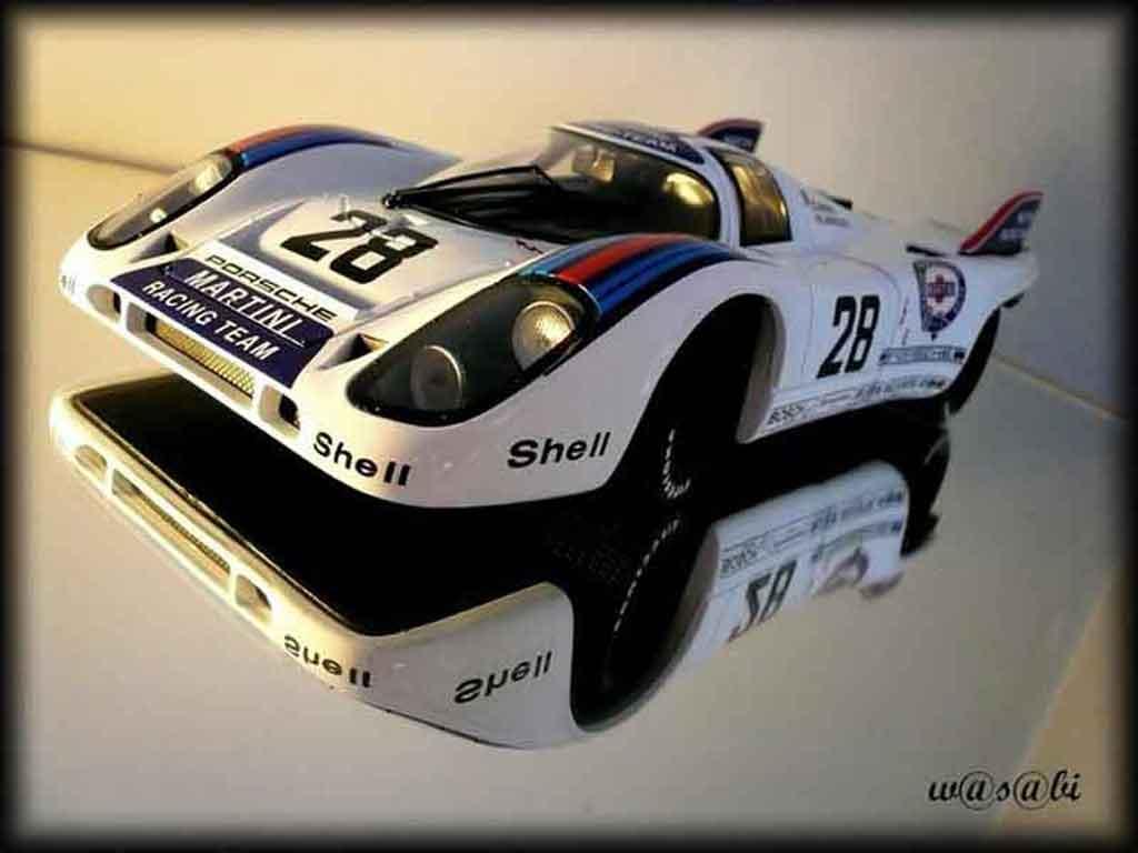 Porsche 917 1971 1/18 Autoart k martini racing #28 1000km austria miniature