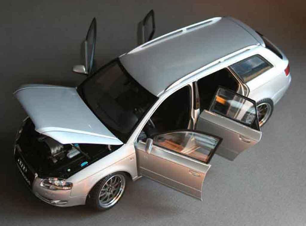 Audi A4 Avant 1/18 Minichamps grey jantes 18 pouces gmp kinesis