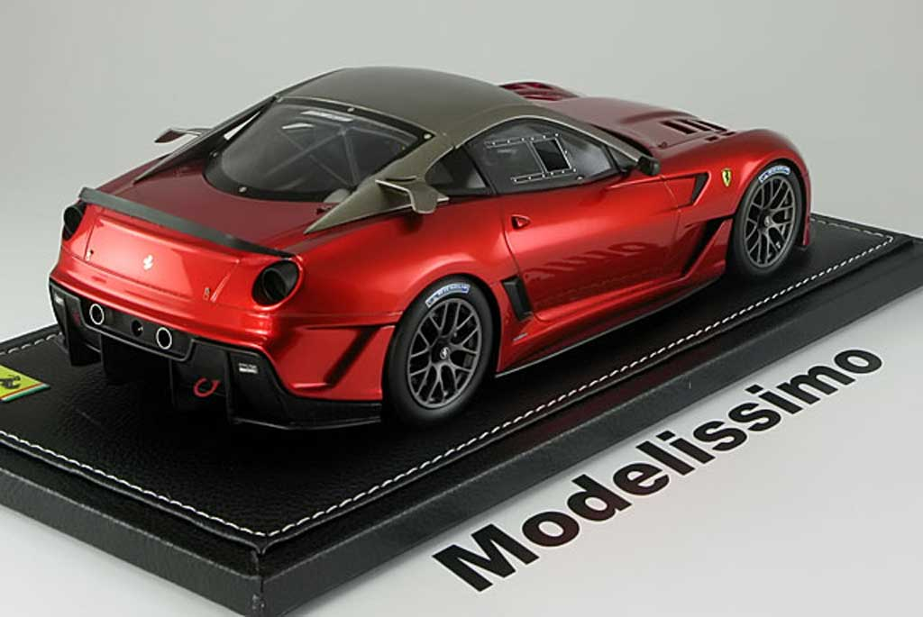 ferrari 599 xx race version 2009 red bbr diecast model car 1 18 buy sell diecast car on. Black Bedroom Furniture Sets. Home Design Ideas