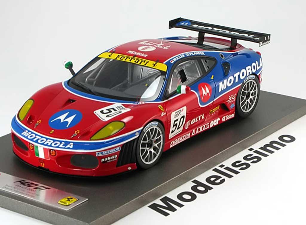 Ferrari F430 GT 1/18 BBR Models no.50 fia gt champions vilander muller 2007 motorola miniature