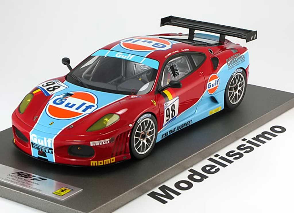 Ferrari F430 GT 1/18 BBR Models no.98 grisestone lambert lefort lemeret 2007 miniature