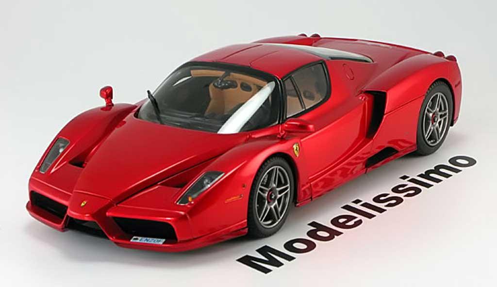 Ferrari Enzo 1/18 BBR Models scuderia rouge metallis miniature