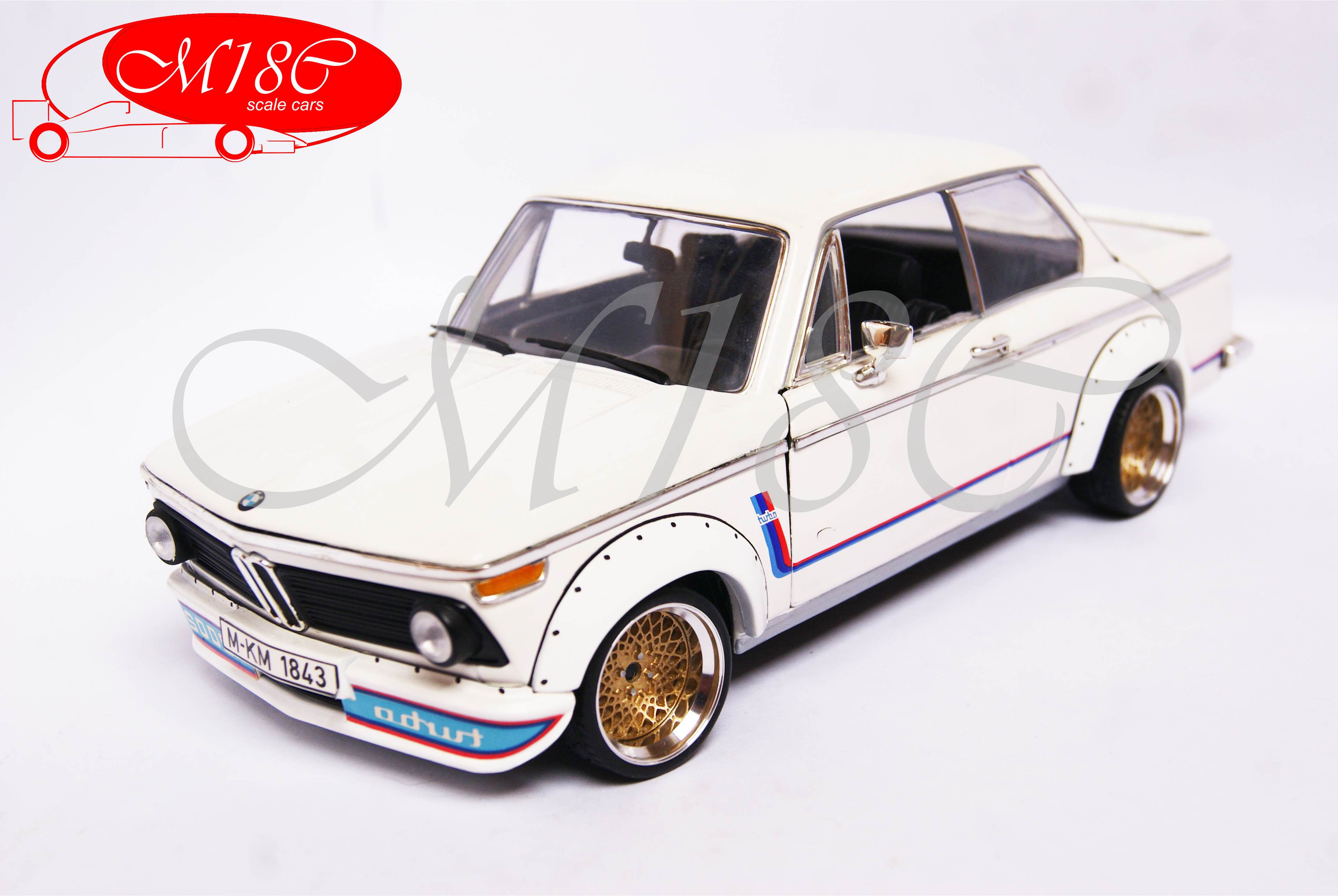 Bmw 2002   turbo white bbs wheels Anson