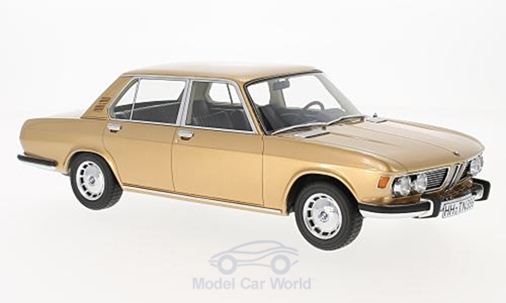 Bmw 2500 E3 or 1968 BoS-Models. Bmw 2500 E3 or 1968 miniature 1/18