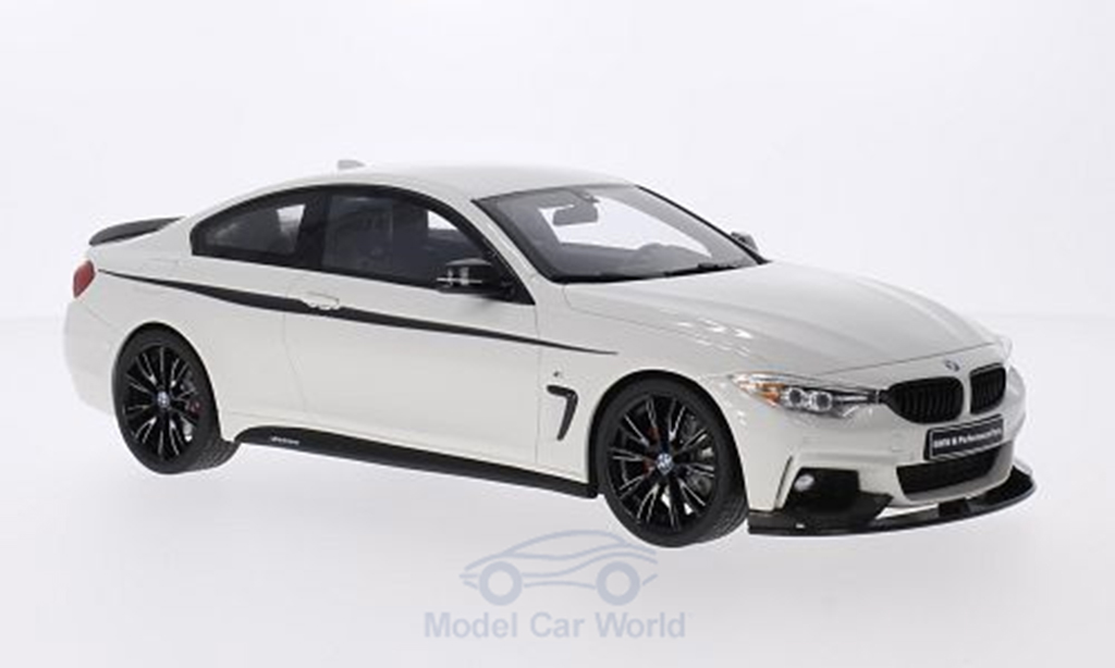 Bmw 435 F32 1/18 GT Spirit i M Performance blanche miniature