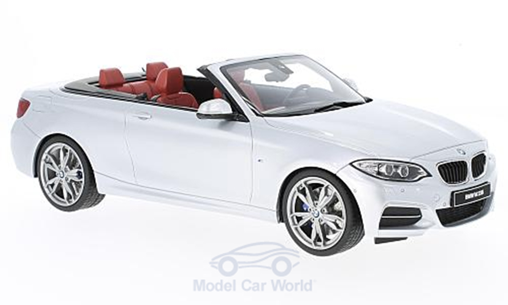 Bmw M235 F23 i M Performance Cabriolet white GT Spirit. Bmw M235 F23 i M Performance Cabriolet white miniature 1/18