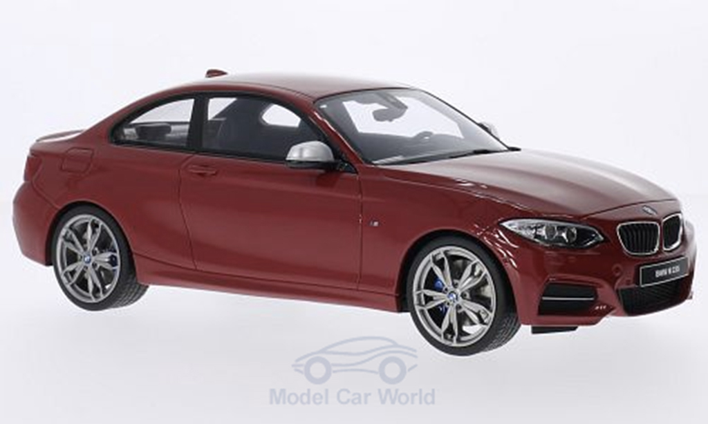 Bmw M2 F22 1/18 GT Spirit 35 i coupe rouge miniature