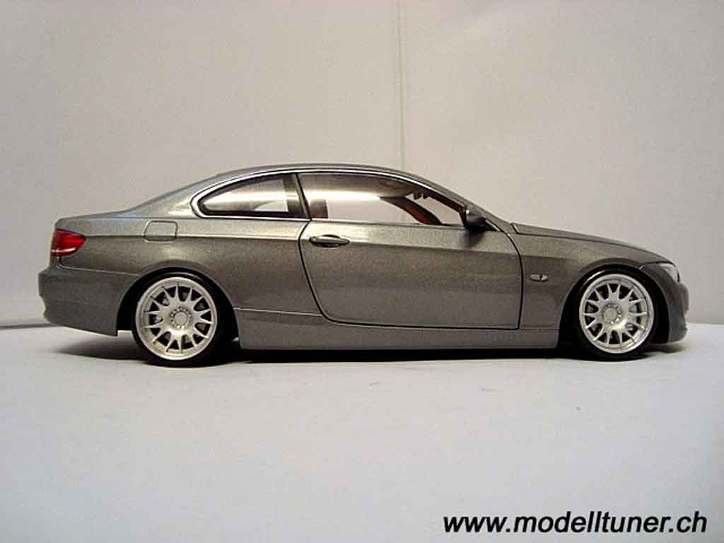 Bmw 330 E92 e92 coupe gray Kyosho diecast model car 1/18 ...