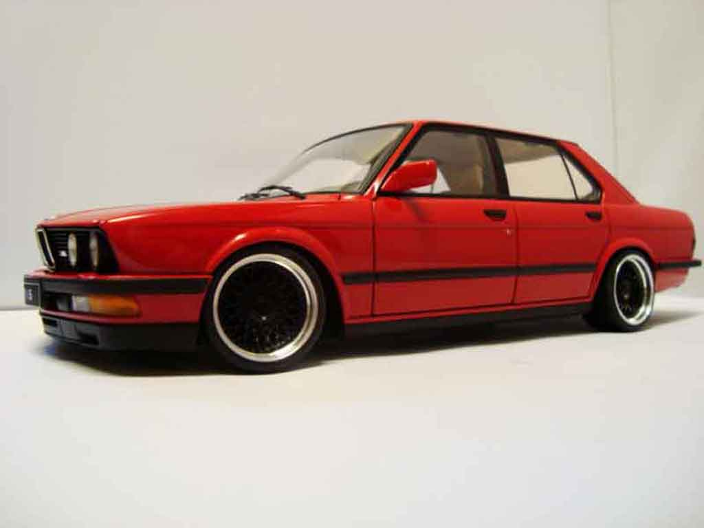 bmw m5 e28 miniature rouge jantes bbs 17 pouces autoart 1. Black Bedroom Furniture Sets. Home Design Ideas