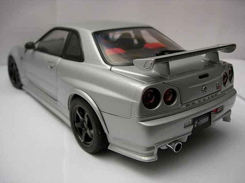 Nissan Skyline R34 GTR 1/18 Autoart nismo z-tune