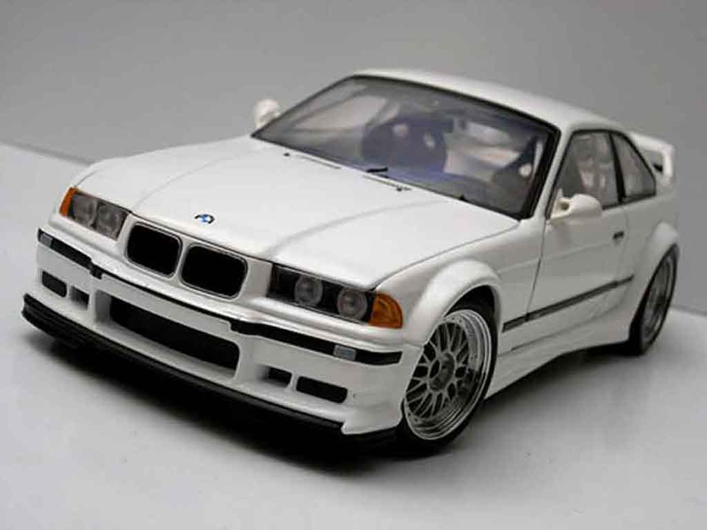 bmw m3 e36 gtr weiss ut models modellauto 1 18 kaufen verkauf modellauto online. Black Bedroom Furniture Sets. Home Design Ideas