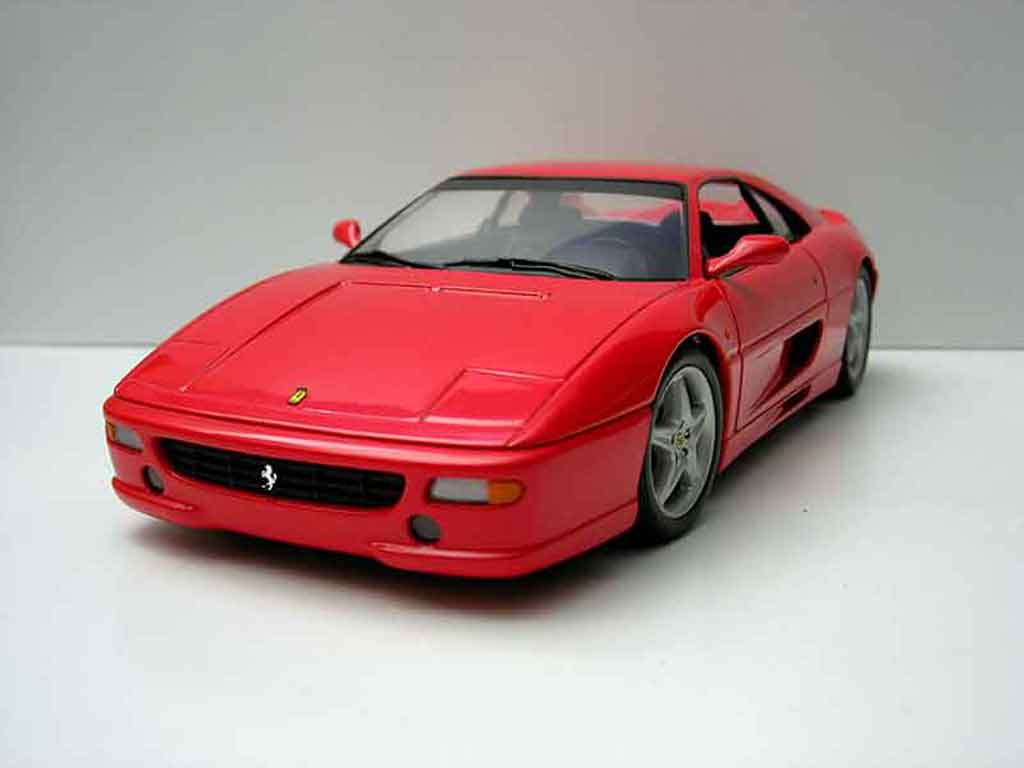 Ferrari F355 Berlinetta 1/18 Ut Models gtb rouge miniature
