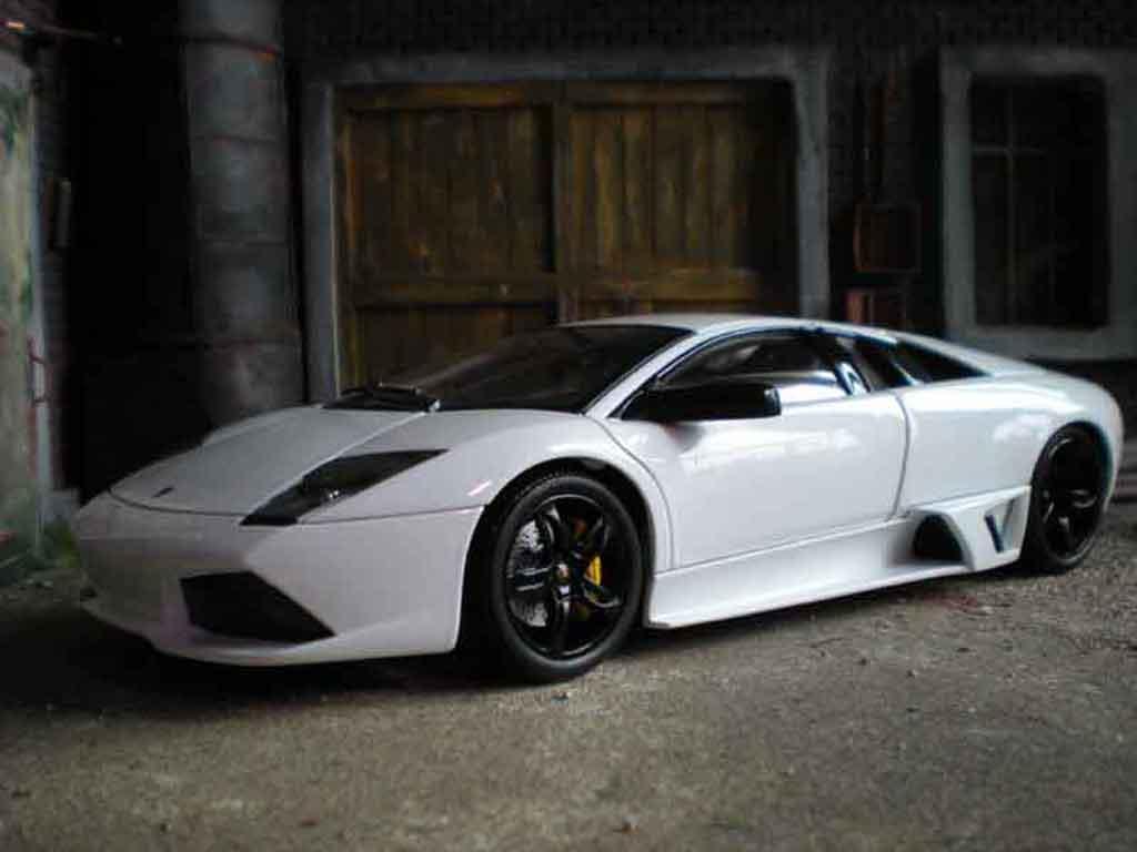 Lamborghini Murcielago LP640 white Norev. Lamborghini Murcielago LP640 white miniature 1/18