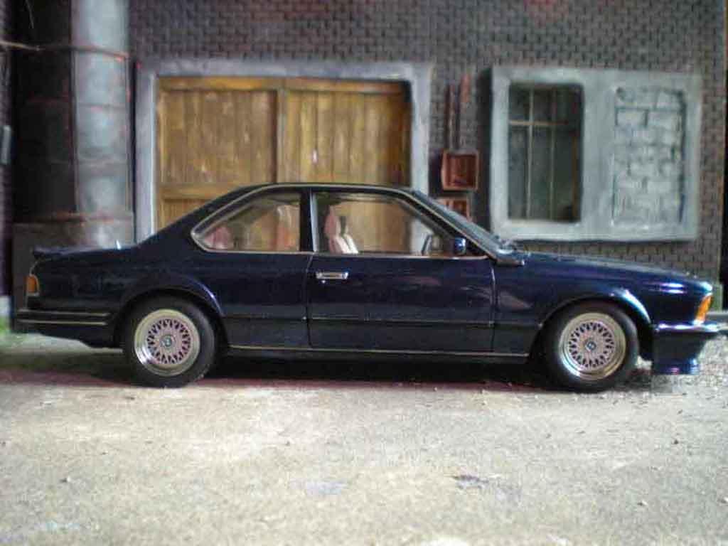 Bmw 635 CSI 1/18 Autoart m blue metallic