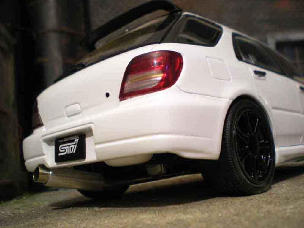 2005 Subaru Impreza Wrx >> Subaru Impreza WRX Wagon sti jdm white Autoart diecast ...