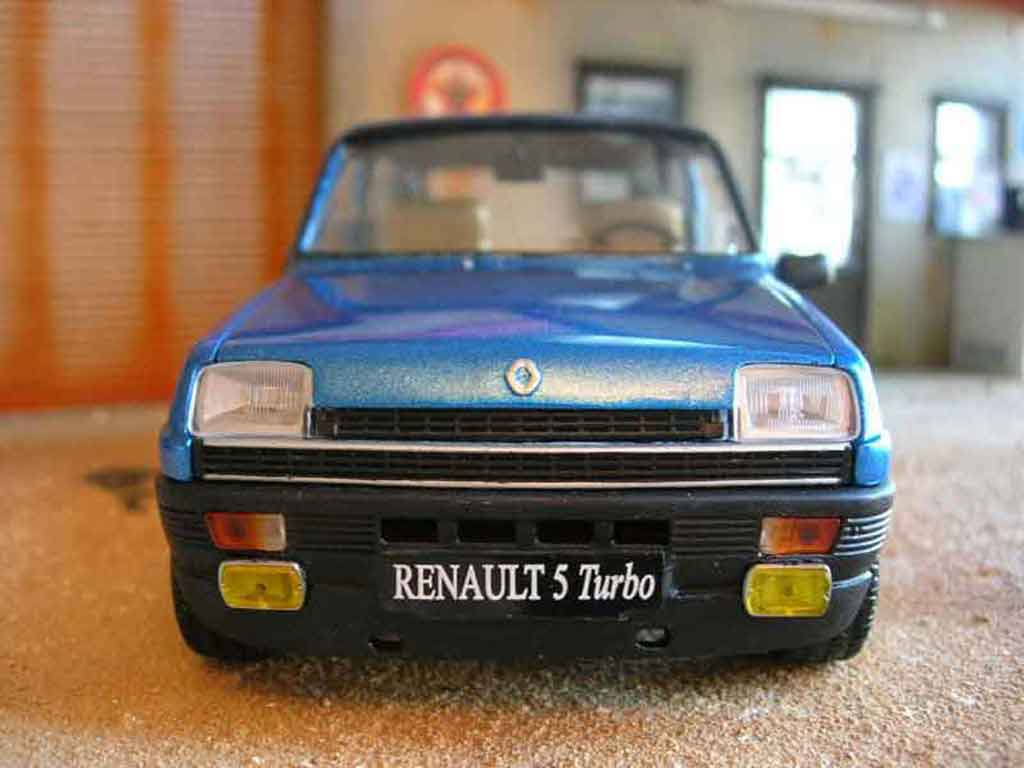 Renault 5 Alpine 1/18 Solido turbo