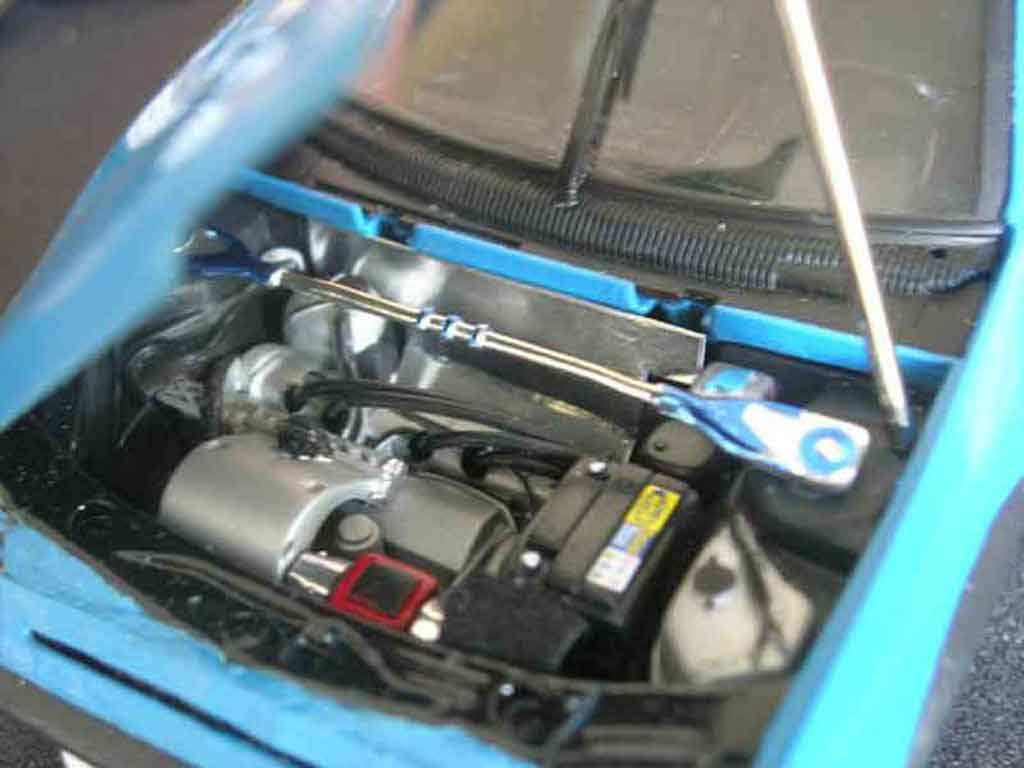 Peugeot 205 GTI Auto Tuning 93 bleue tuning Solido. Peugeot 205 GTI Auto Tuning 93 bleue Auto Tuning 93 miniature modèle réduit 1/18