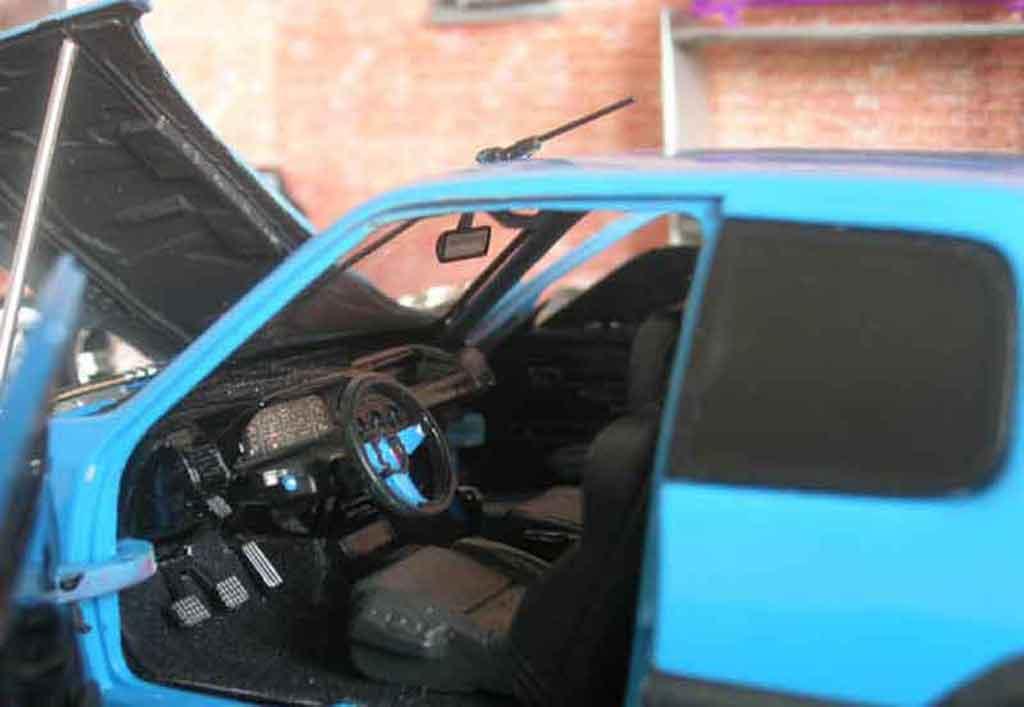 Peugeot 205 GTI Auto Tuning 93 bleue tuning Solido. Peugeot 205 GTI Auto Tuning 93 bleue Auto Tuning 93 miniature auto miniature 1/18