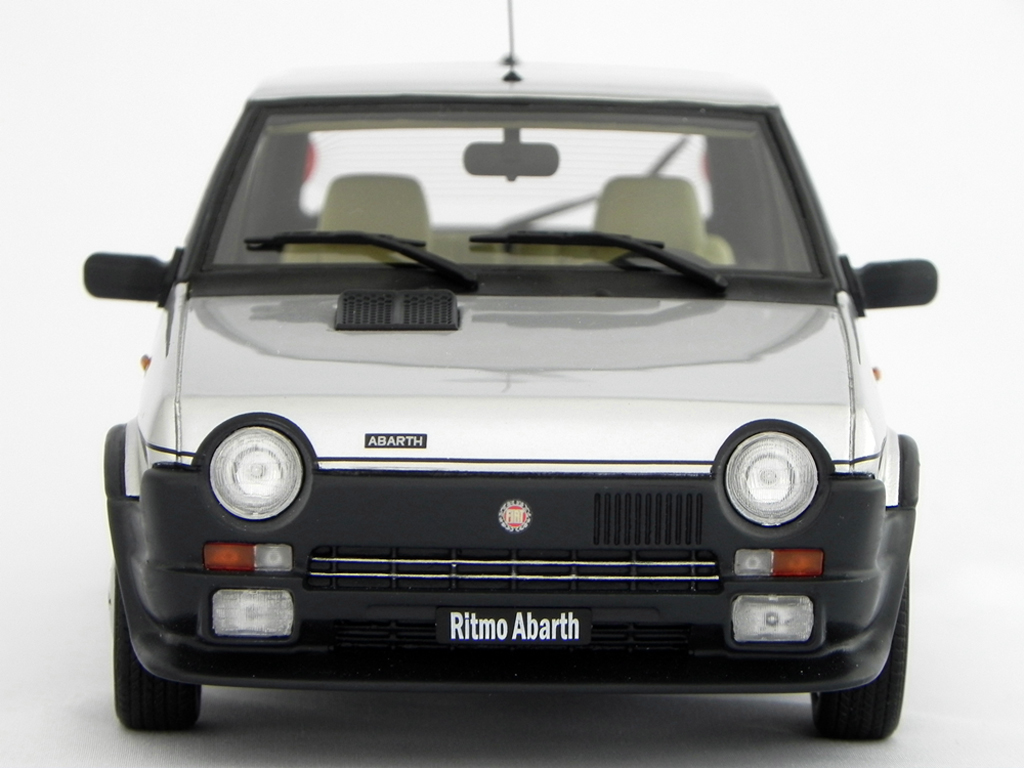 Fiat Ritmo 125 TC 1/18 Laudoracing Models Abarth LM089 gray diecast