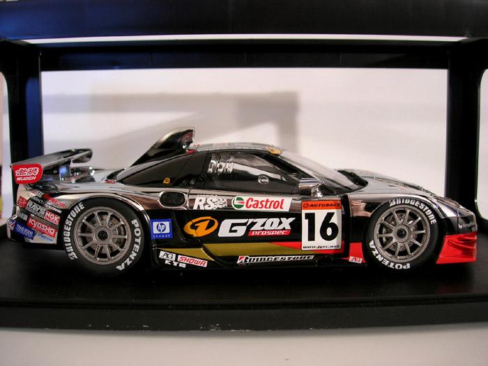 Honda NSX JGTC 2003 gzox mugen Autoart. Honda NSX JGTC 2003 gzox mugen Mugen miniature modèle réduit 1/18