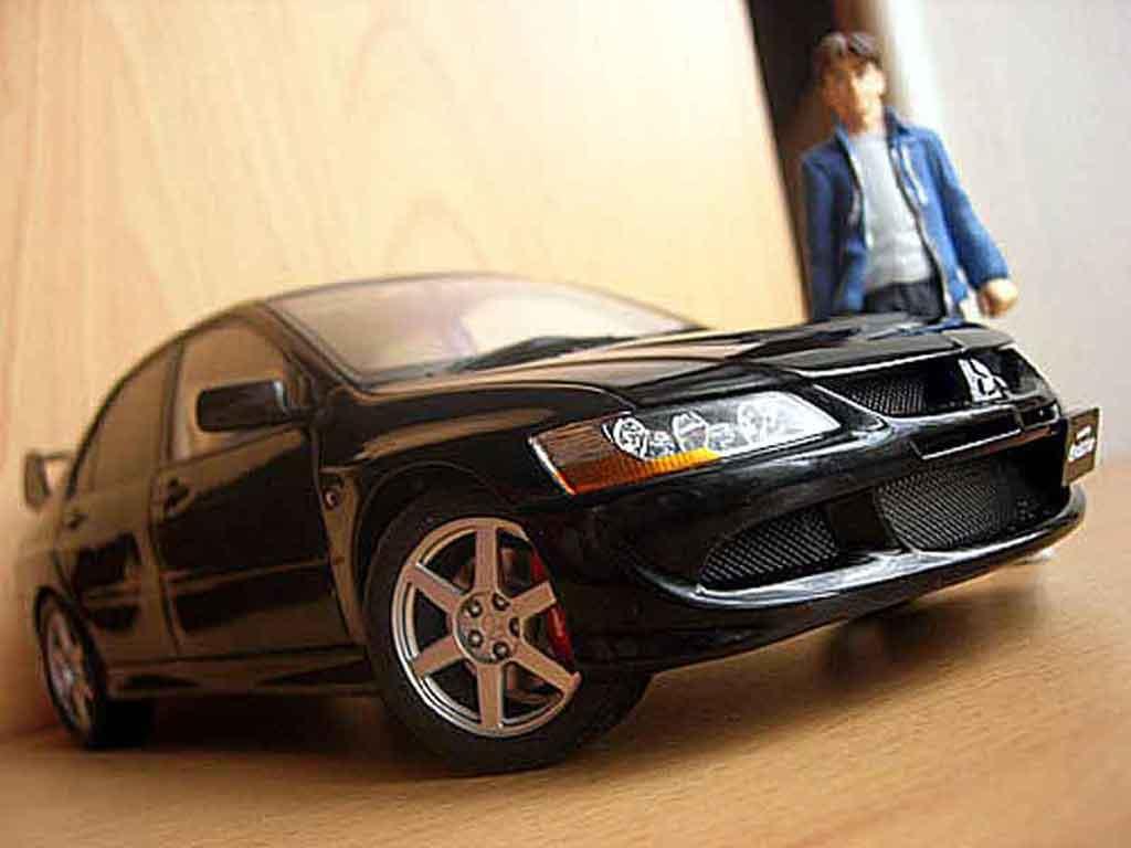mitsubishi lancer evolution viii schwarz autoart modellauto 1 18 kaufen verkauf modellauto. Black Bedroom Furniture Sets. Home Design Ideas